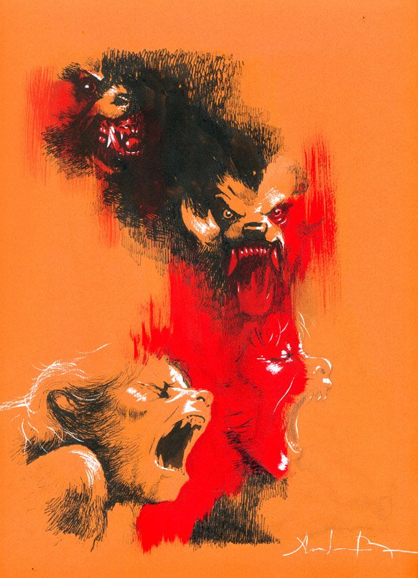 Alternative Poster Art : American Werewolf Andrei Bressan