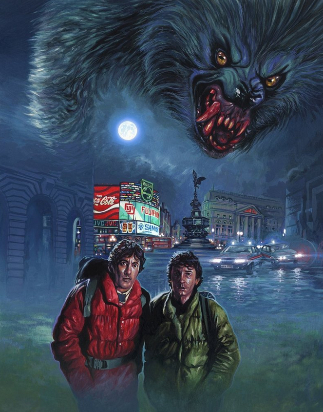 Alternative Poster Art : American Werewolf Daryl Joyce