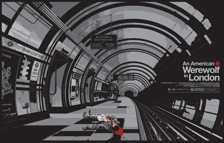 Alternative Poster Art : American Werewolf Ken Taylor