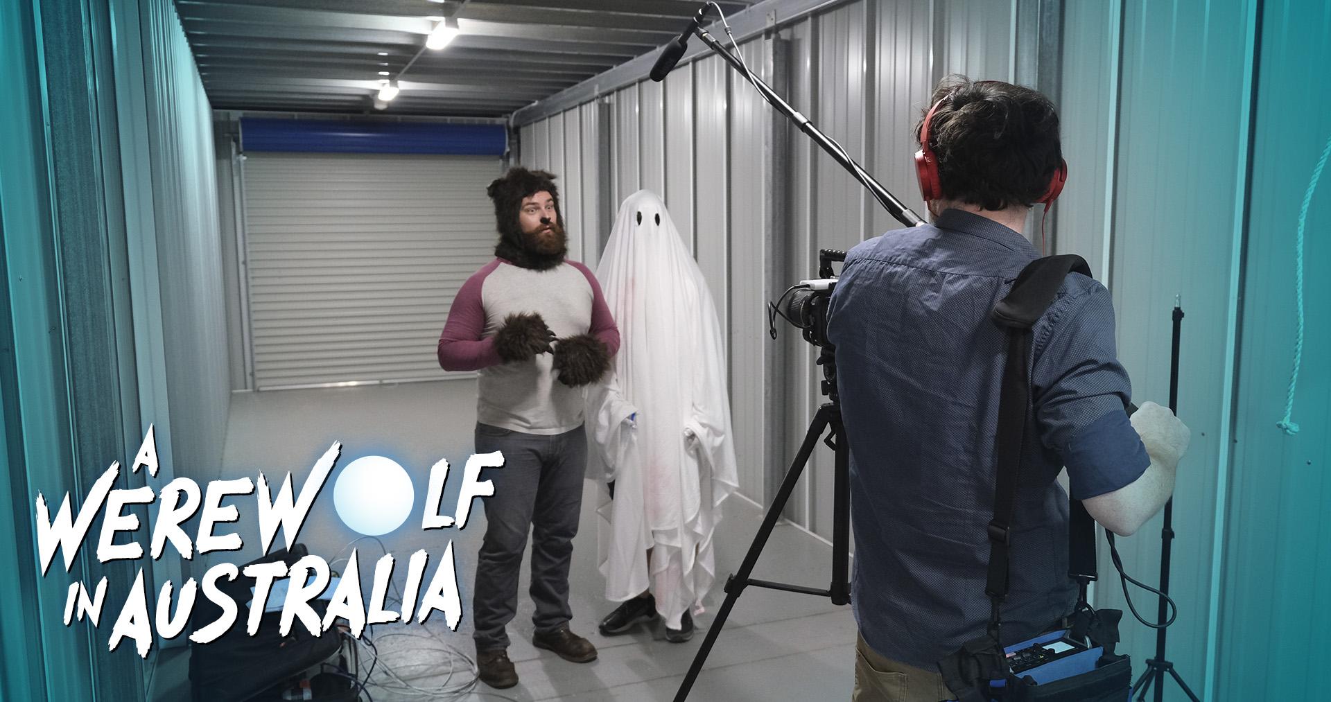 A Werewolf in Australia Behind the Scenes Still