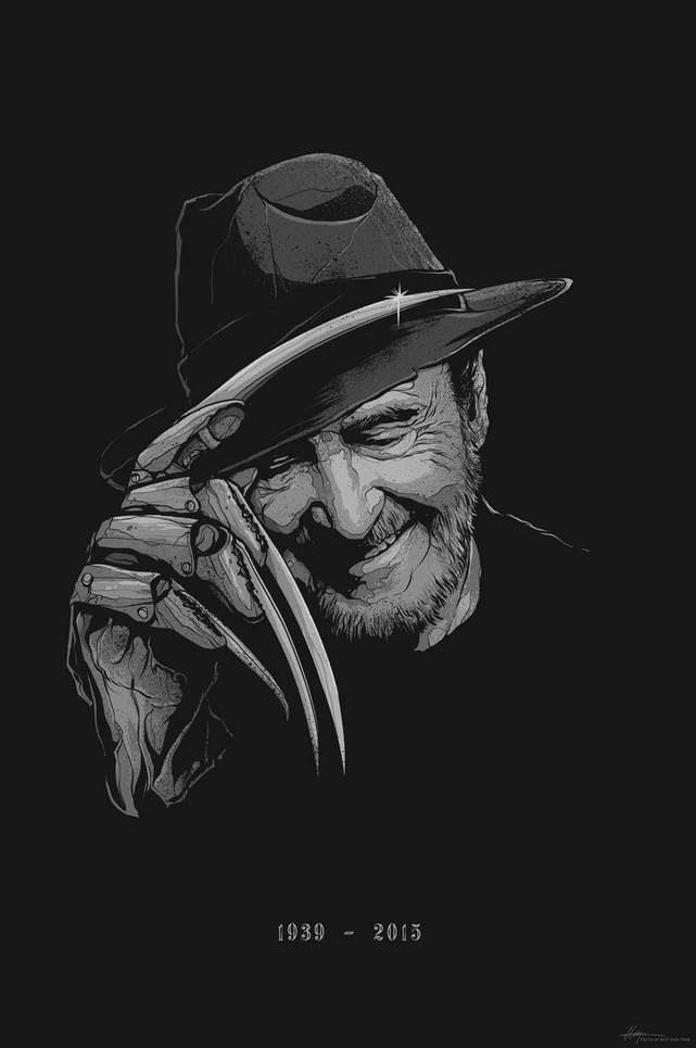 Wes Craven Tribute Art List Matt Ryan