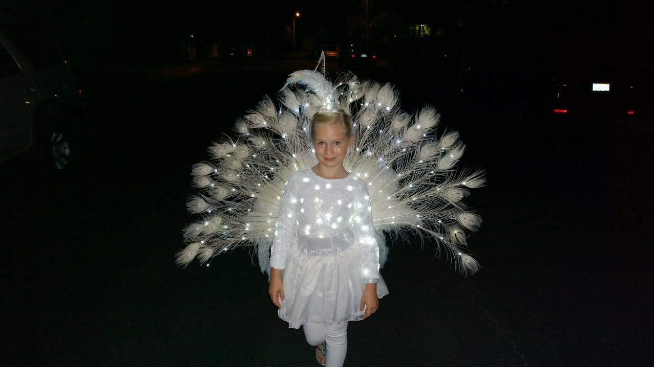 White Peacock | Halloween Love