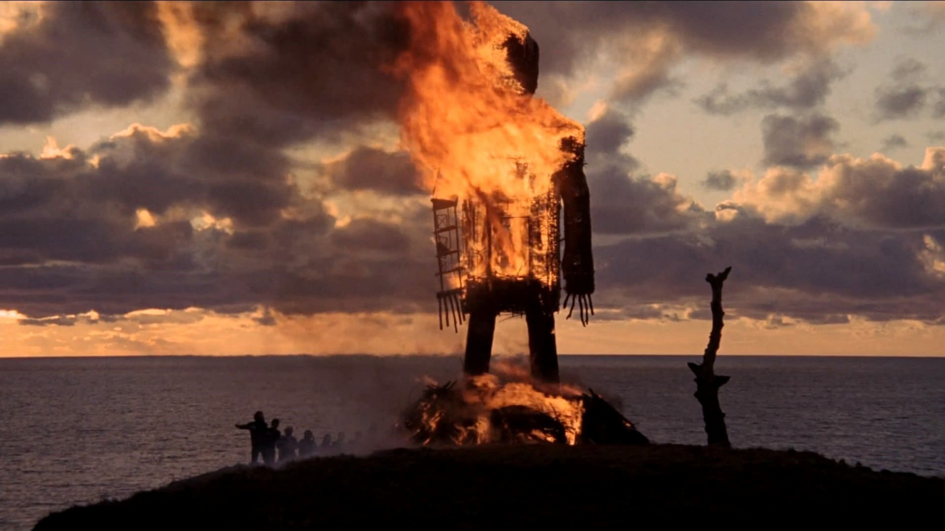 Wicker Man burns