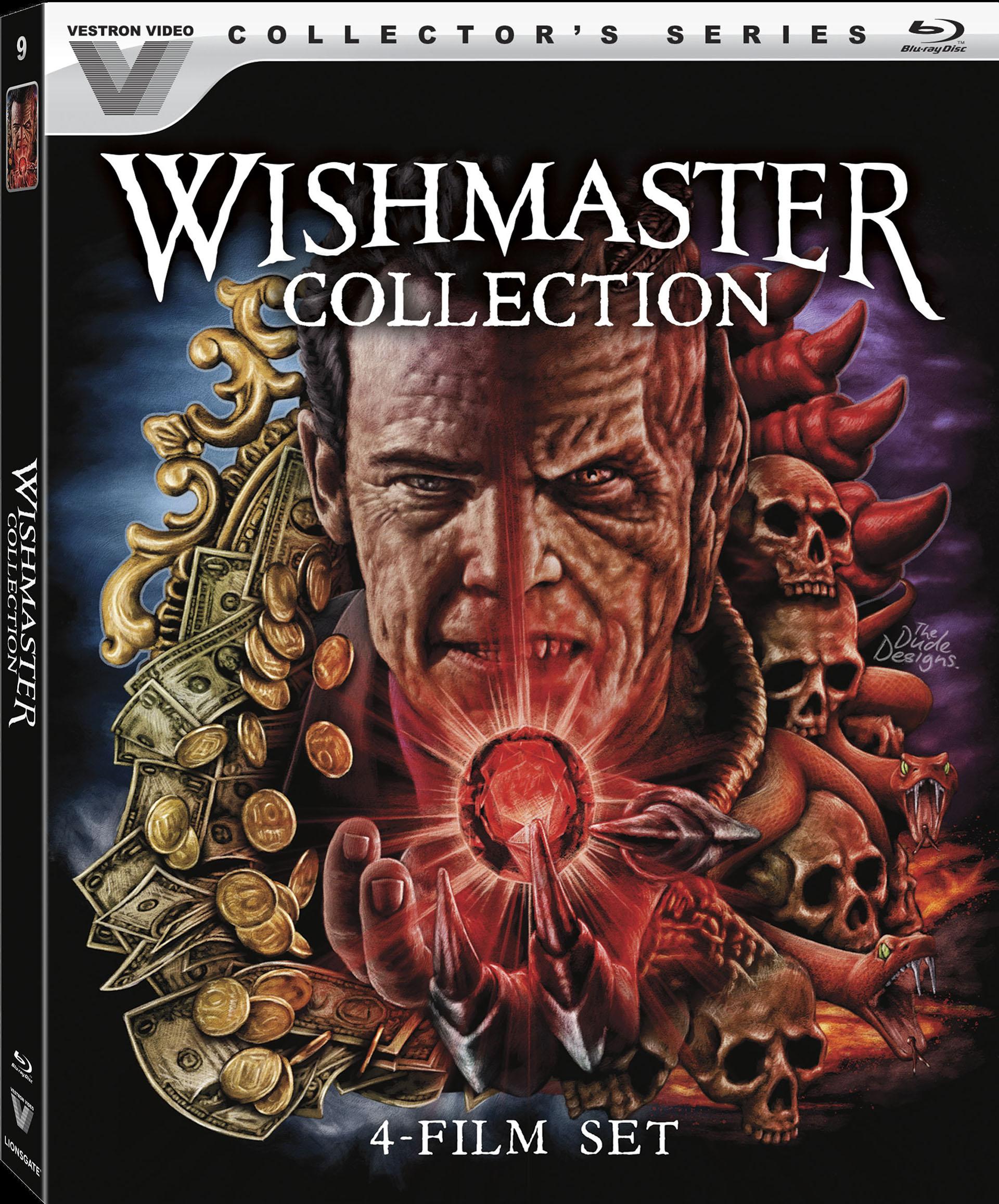 Wishmaster Box Art