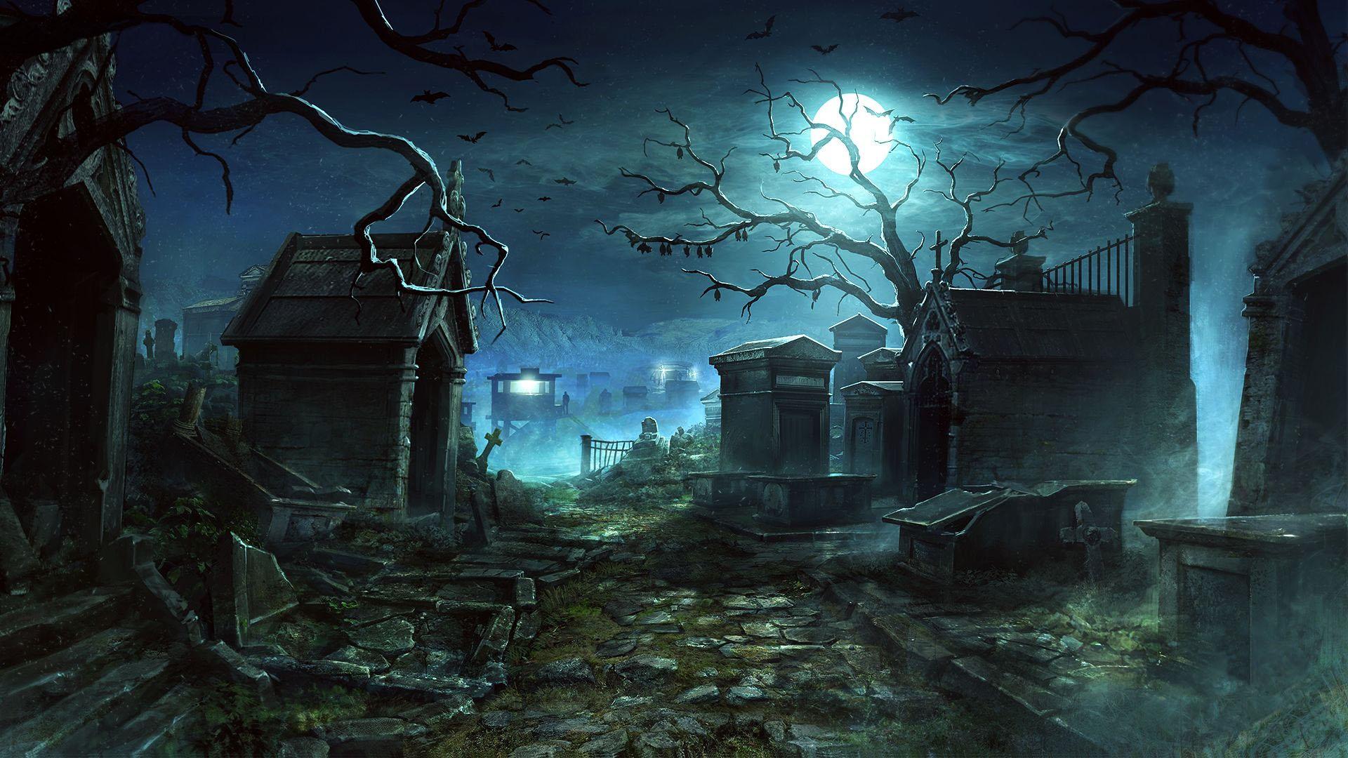 Wolfenstein Graveyard