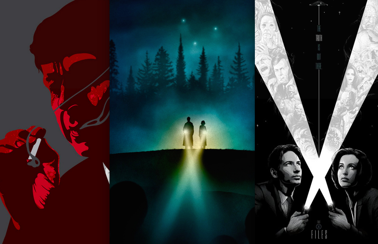 The X-Files : Alternative Art List Halloween Love