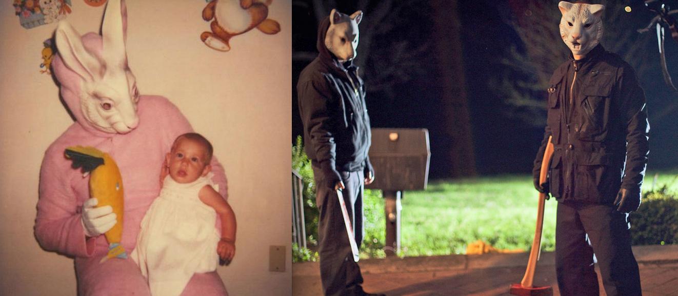 You're Next Creepy Easter Bunny